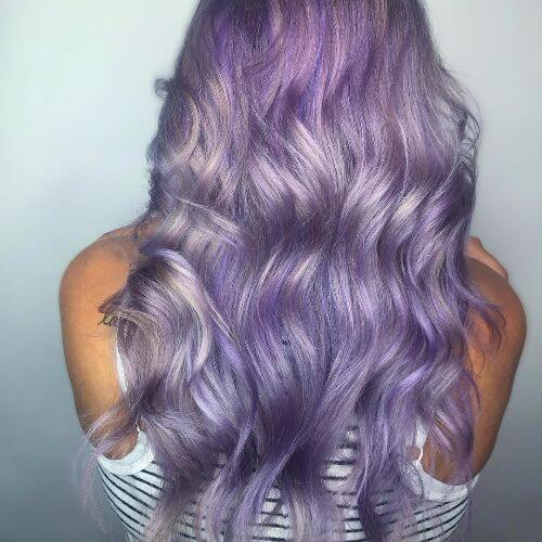 lavender hair idea