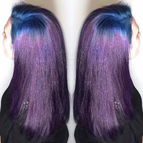 blue purple ombre
