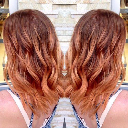 80 balayage highlights ideas for every hair color hair motive copper balayage pmusecretfo Image collections