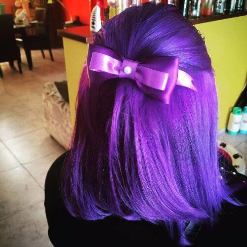 medium lavender hair