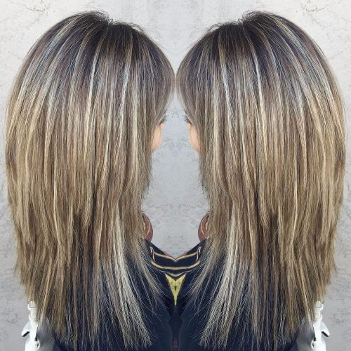 dirty blonde balayage highlights