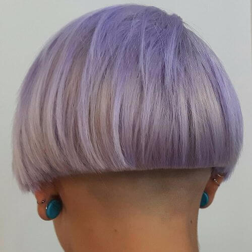 blue lavender hair color