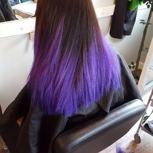 black violet ombre hair - photo #18