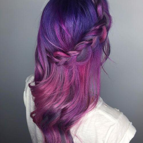 Spruce Up Your Purple With An Ombre 50 Ideas Worth