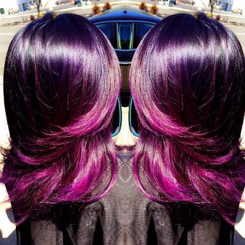 Burgundy Hair 50 Vivid Hues Amp Shades You Ll Just Love