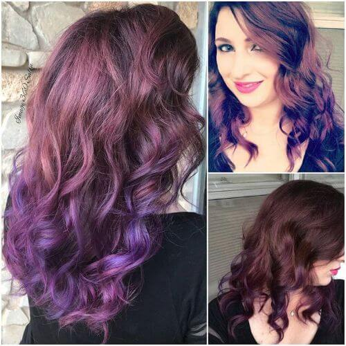 Spruce Up Your Purple With An Ombre 50 Ideas Worth Checking Out Hair Motive Hair Motive
