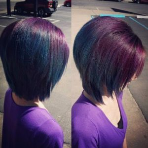 Purple Turquoise Green Ombre Hair Hair Motive Hair Motive