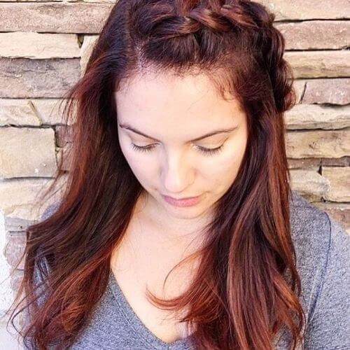 80 balayage highlights ideas for every hair color hair motive red balayage highlights on long brown hair pmusecretfo Choice Image