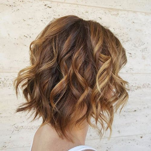 balayage on bob haircut