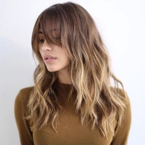 Natural Balayage Brown Hair