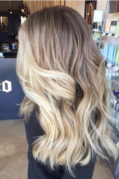 Ash Sombre Hairstyle for Blonde Hair