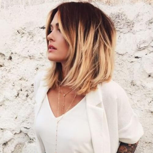 Beach Hair Ombre Short Hair