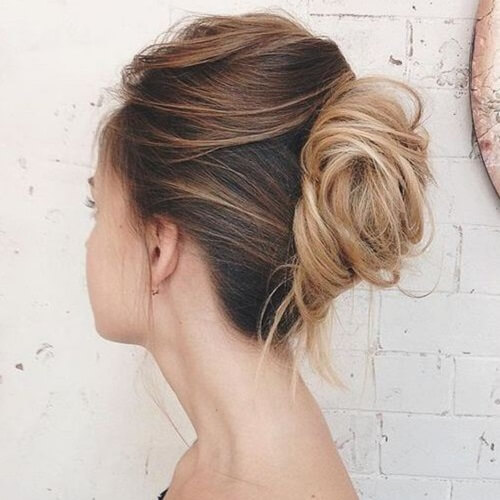 Blended Loose Updo