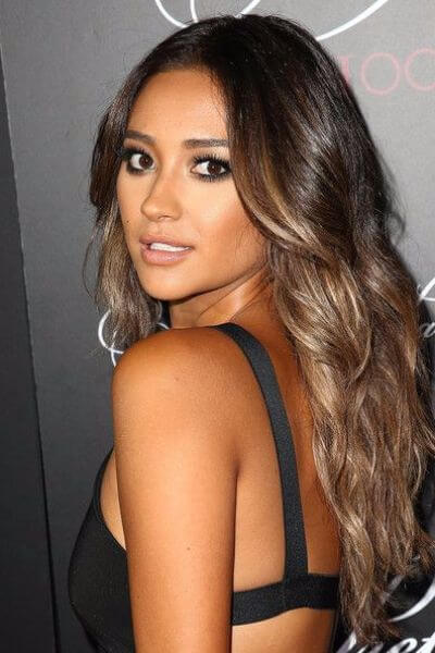 Bold Sombre Hairstyle for Dark Hair