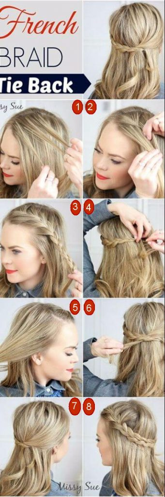 Chic French Braid for Bohemian Days