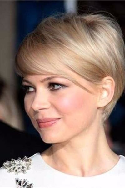 Darling Pixie with Bangs for Straight Thin Hair