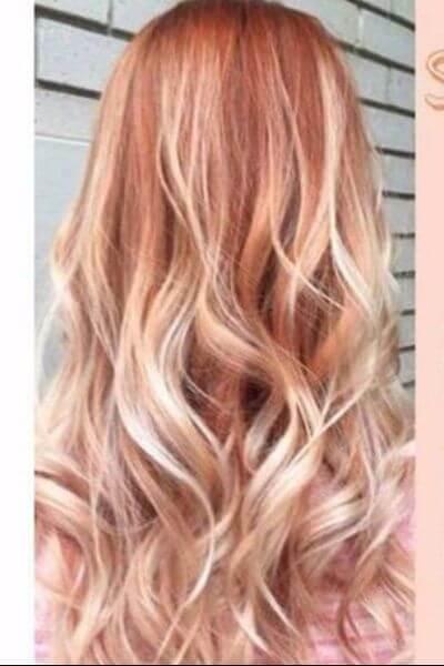 Delicious Strawberry Sombre Hair