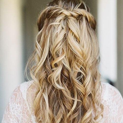 Discrete Balayage Blonde Hair
