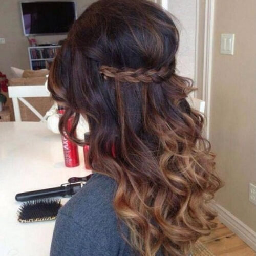 Enhanced Colors with Braid and Curls