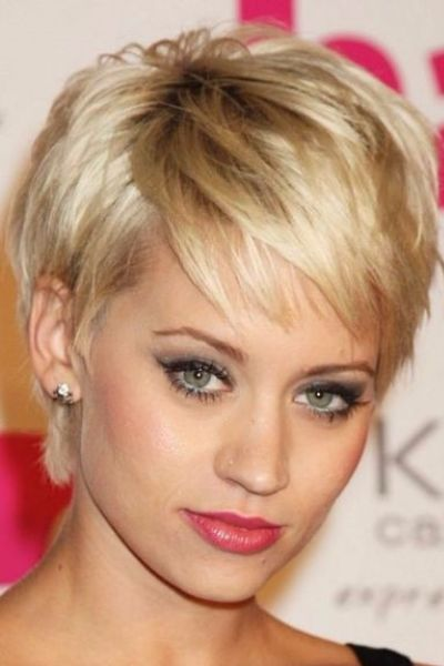 Fabulous Blonde Pixie Cut