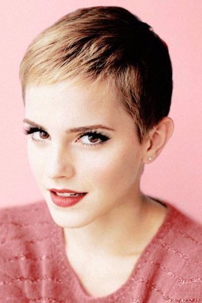 Glam Pixie Cut for Thin Hair