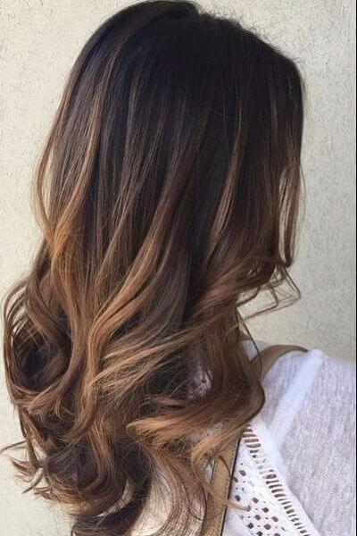 Golden Sombre for Brunettes