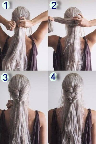 Khaleesi Twist Braids Hairstyle