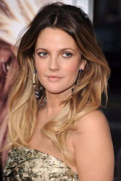 Light Blonde Sombre Hair for Dark Hair Tones
