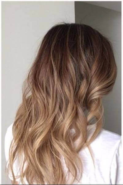 Light Sombre Hair for Brown Hair