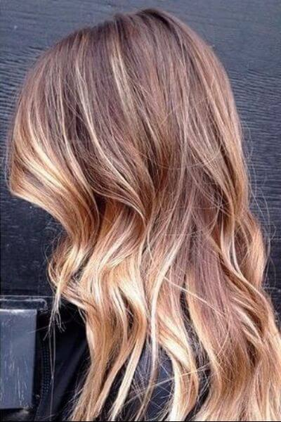 Light Sombre Look for Blonde Hair