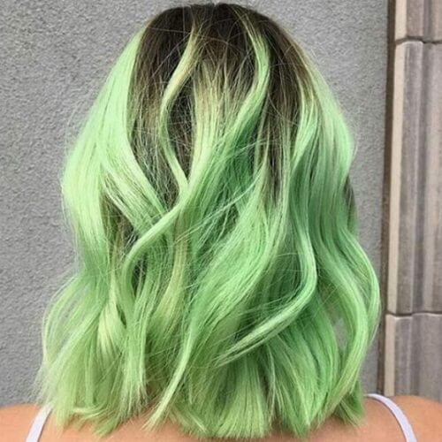 light green balayage