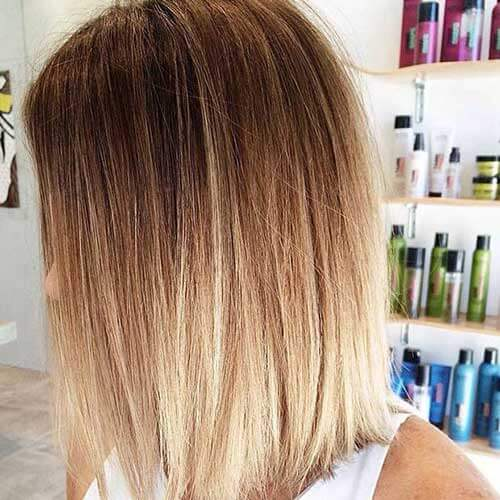 Natural Blonde Ombre Hair