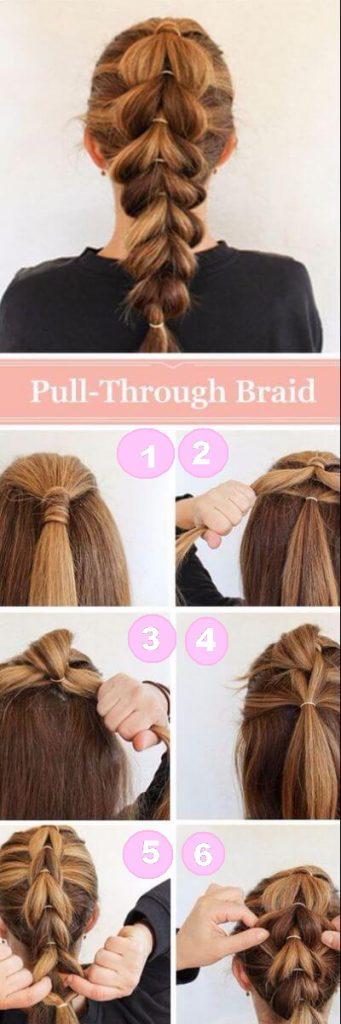 Quick Pull-Through Braid for Bold Tuesdays