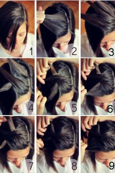Quick and Easy Side Braid for Short Hair