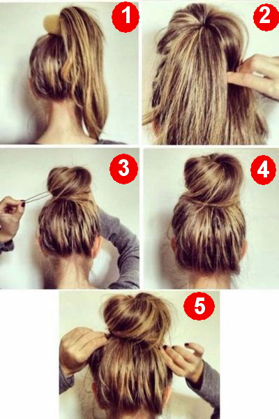 uper-Fast Sock Bun for Early Days