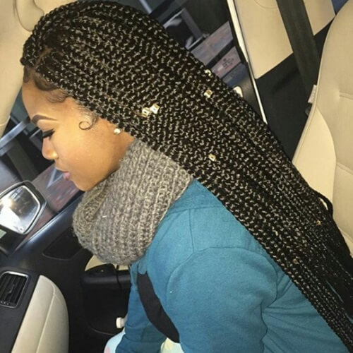 Super Long Box Braids