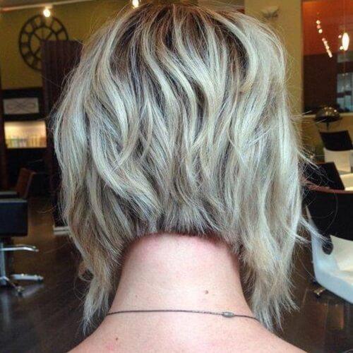 A-line Short Bob Haircuts for Women