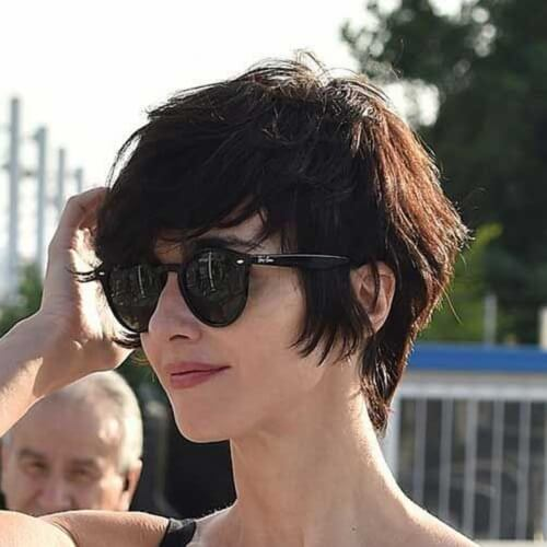 long shaggy pixie haircut 50 spectacular pixie cut suggestions hair motive hair motive 6005 | Dark Shaggy Locks