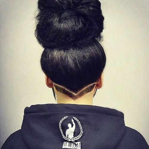 Discreet Undercut Hair Design
