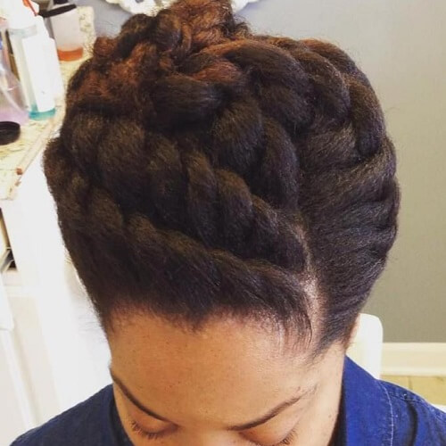 Fancy Twisted Updos