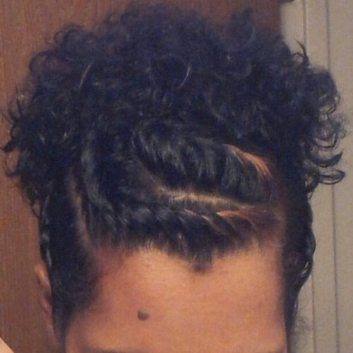 Flat Twists with Puffy Ponytail