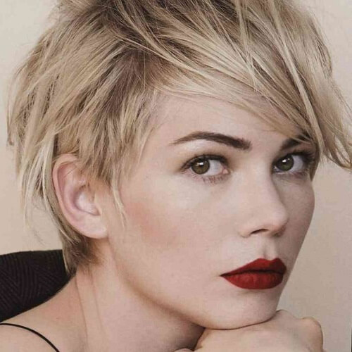 Glam and Edgy Pixie Cut