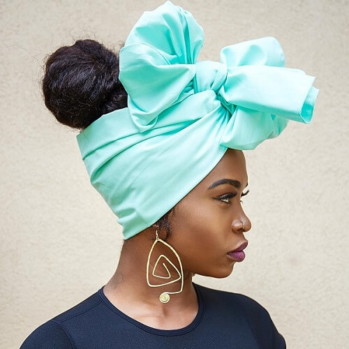 Head Wrap Quick Natural Hairstyles