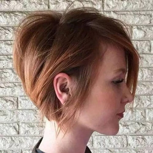 Natural and Messy Pixie Cut