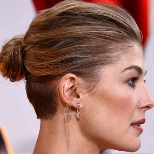 Red Carpet undercut styling