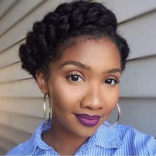 Retro Braided Crown