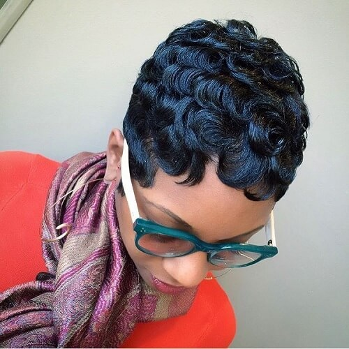 Retro Hairstyles for Short Natural Hair