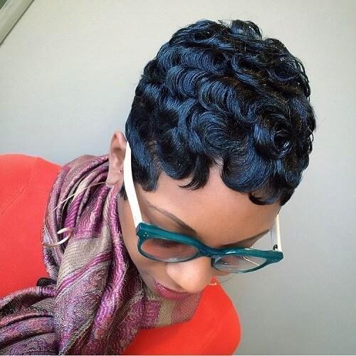 Retro Hairstyles for Short Natural Hair