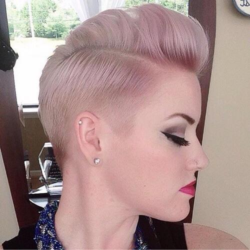 Rock Glam Short Hairdos