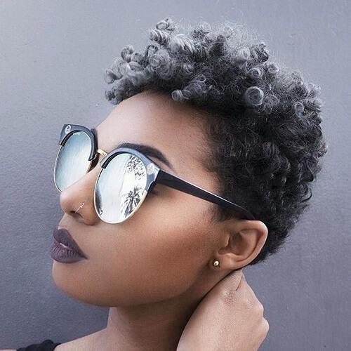 Short Ombre Curls